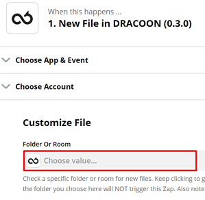 DRACOON and Zapier 3