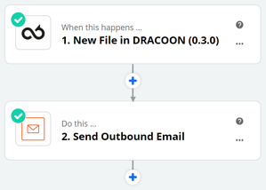 DRACOON and Zapier 5