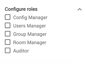 User Roles DRACOON