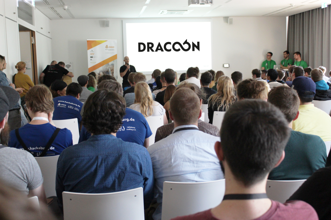 DRACOON supports Hackaburg 2019 as a sponsor