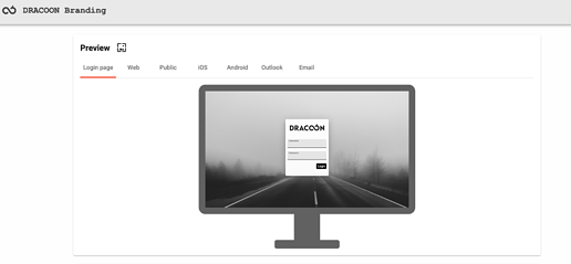 DRACOON Branding Preview