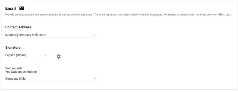 DRACOON Branding E-Mail
