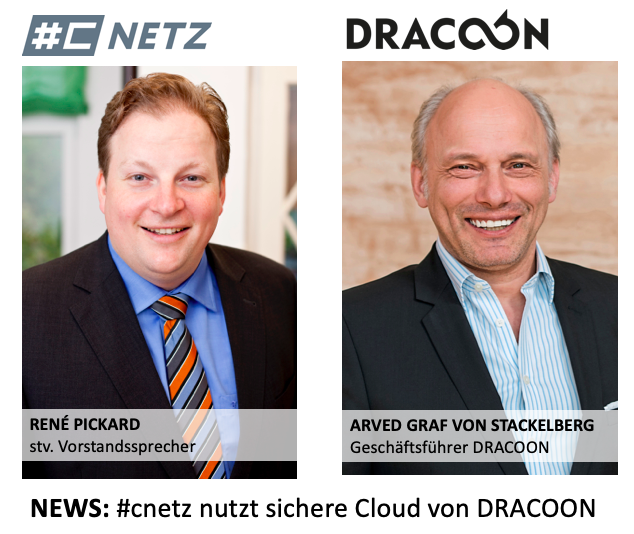 #cnetz is using the secure cloud by DRACOON