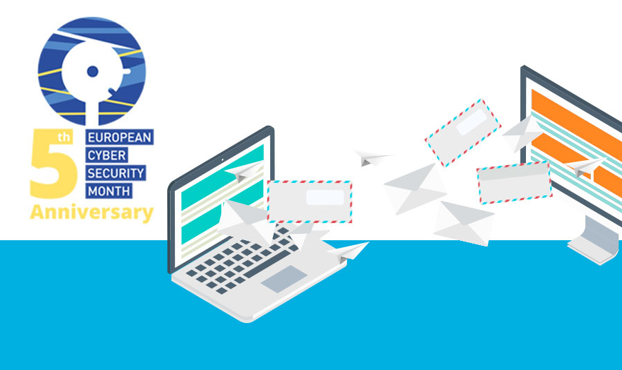 European Cyber Security Month - Sending emails securely