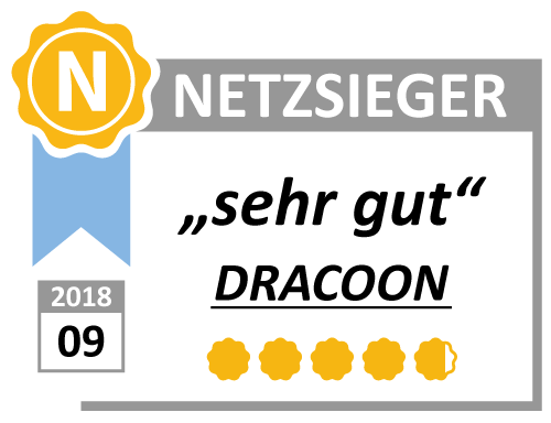 DRACOON tested by Netzsieger