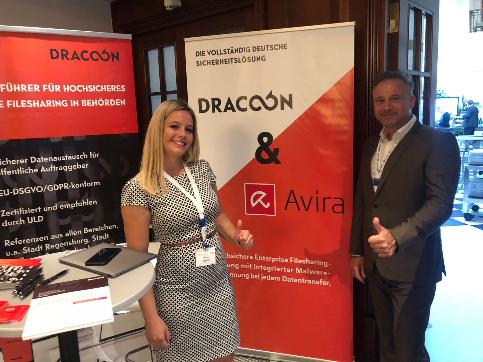 No chance for malware: DRACOON cooperates with Avira