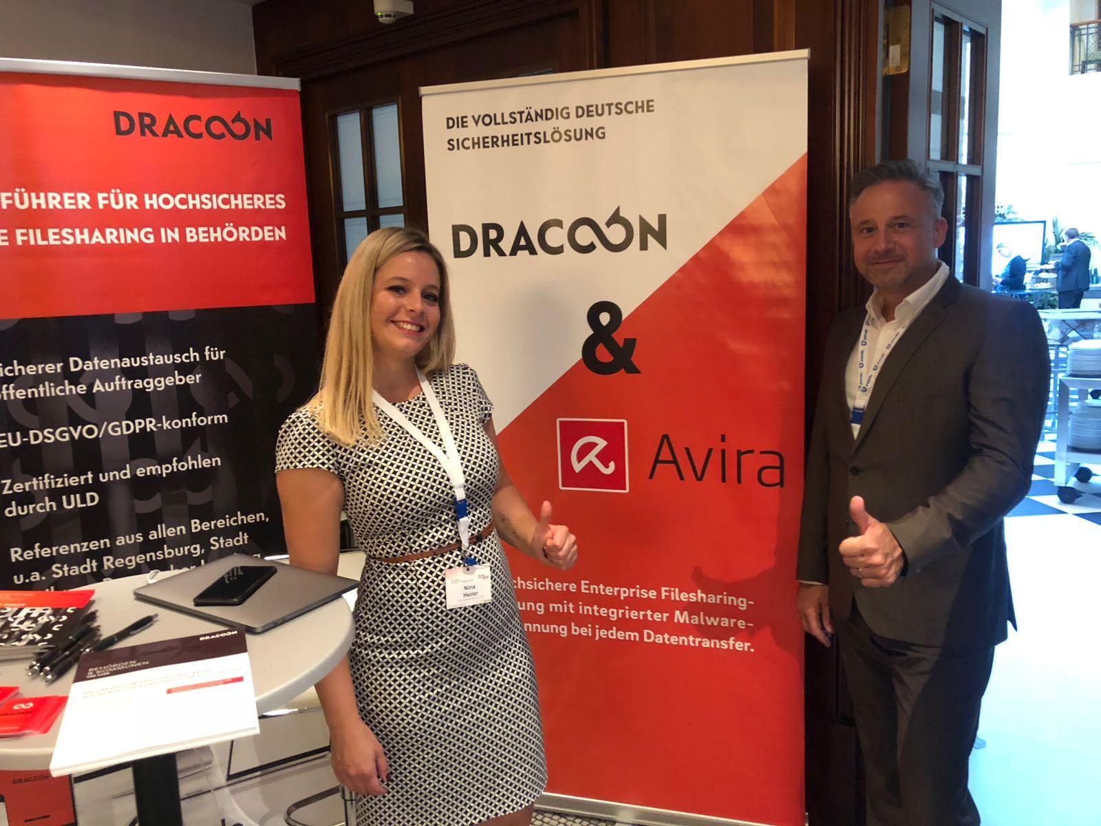 Keine Chance für Malware: DRACOON kooperiert mit Avira