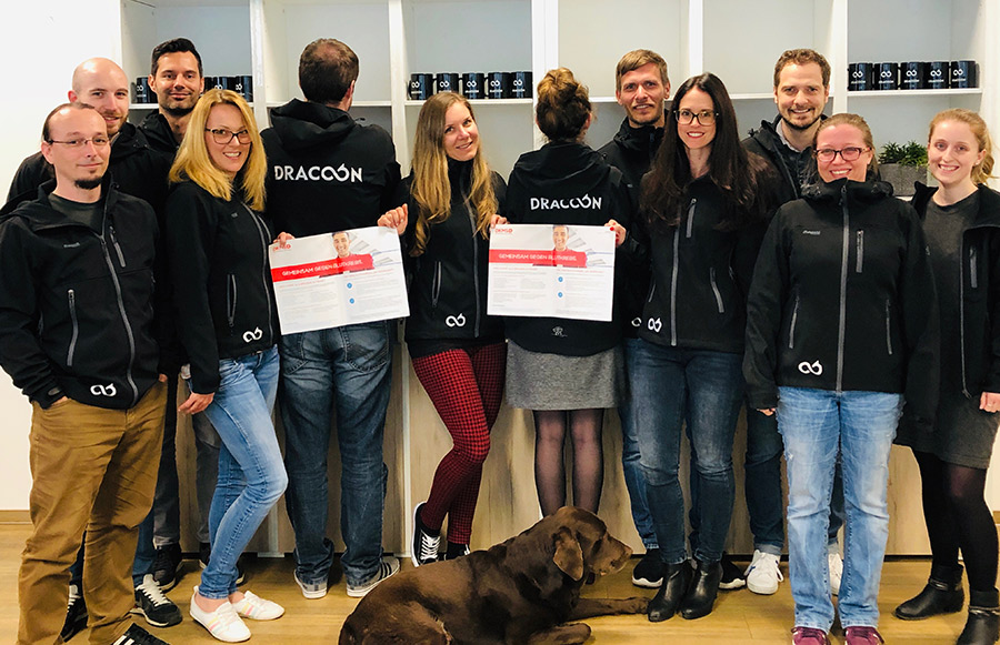 DRACOON initiates successful DKMS-donor drive