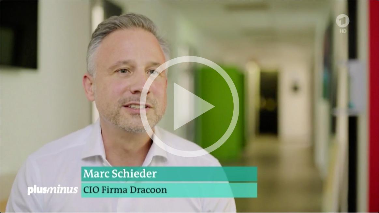 ARD berichtet über DRACOON: Marc Schieder, CIO